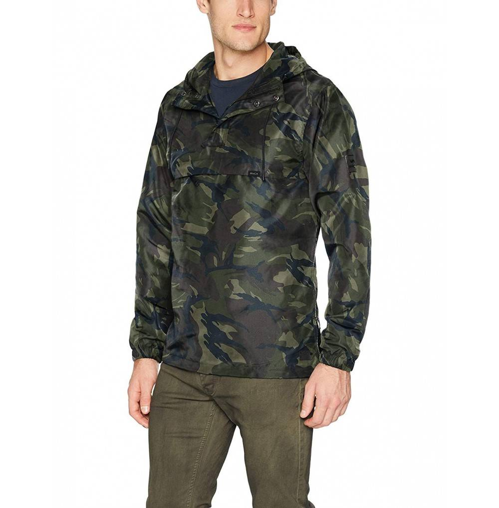 RVCA Mens Packaway Anorak Jacket