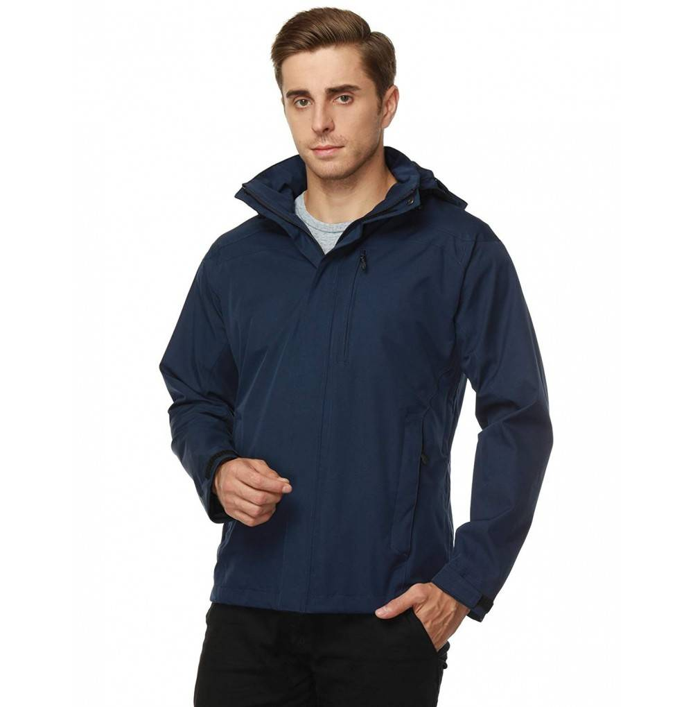Hooded Jackets Waterproof Windbreaker Outdoor