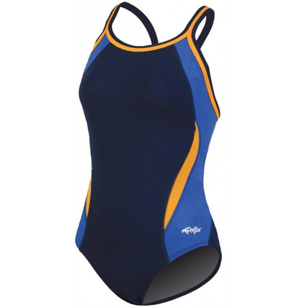 Dolfin CHLOROBAN BLOCK SWIMSUIT WOMENS