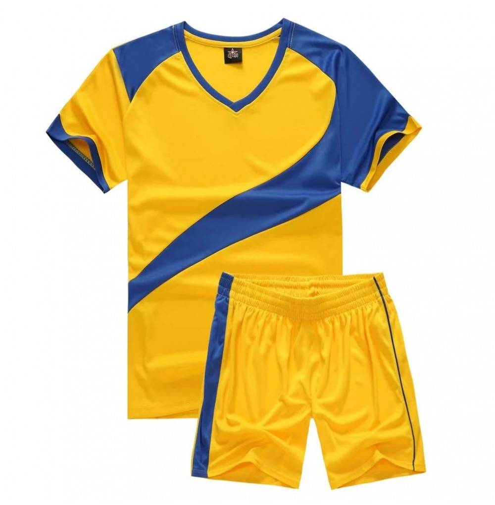 Soccer Uniforms Jersey Shorts Sleeve