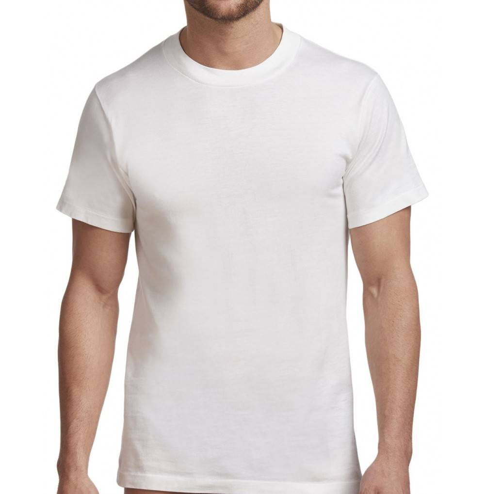 Stanfields Mens Cotton Undershirt White