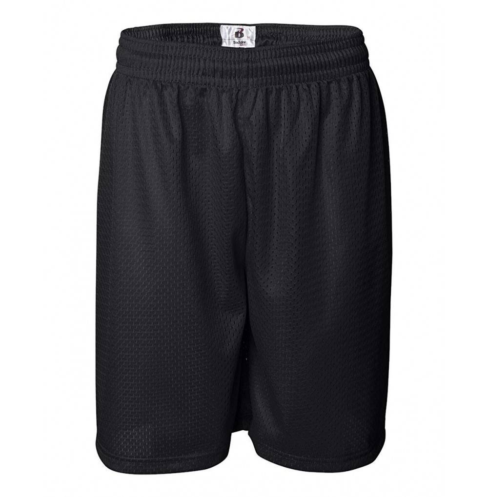 Badger Mens 9 Mesh Shorts