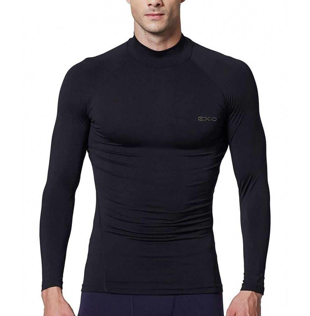 EXIO Compression Baselayer Long Sleeve Shirts
