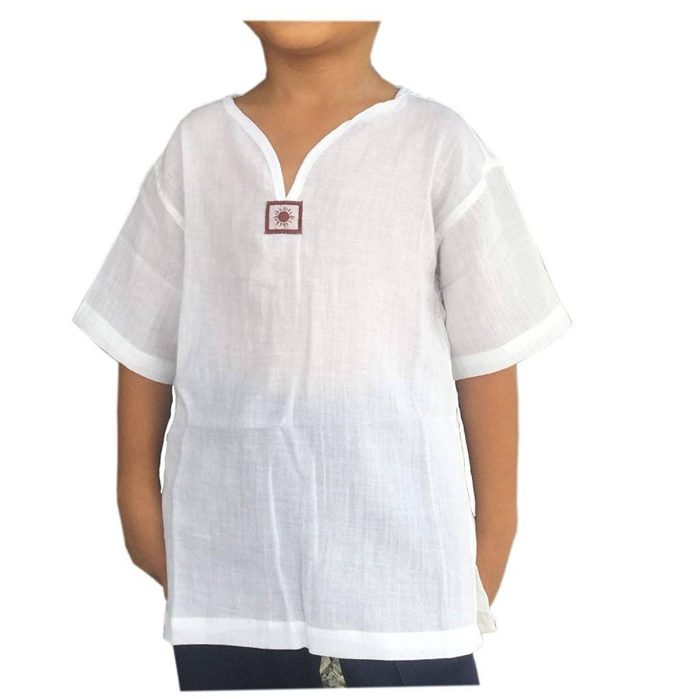 PJ White Shirt Short Sleeves
