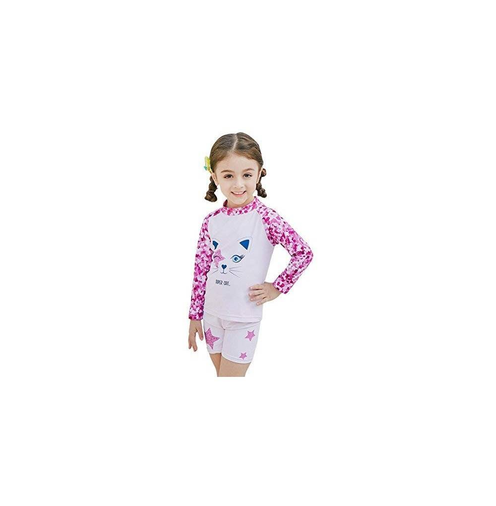 Sabolay Girls Sleeve Sunsuit Swimsuit