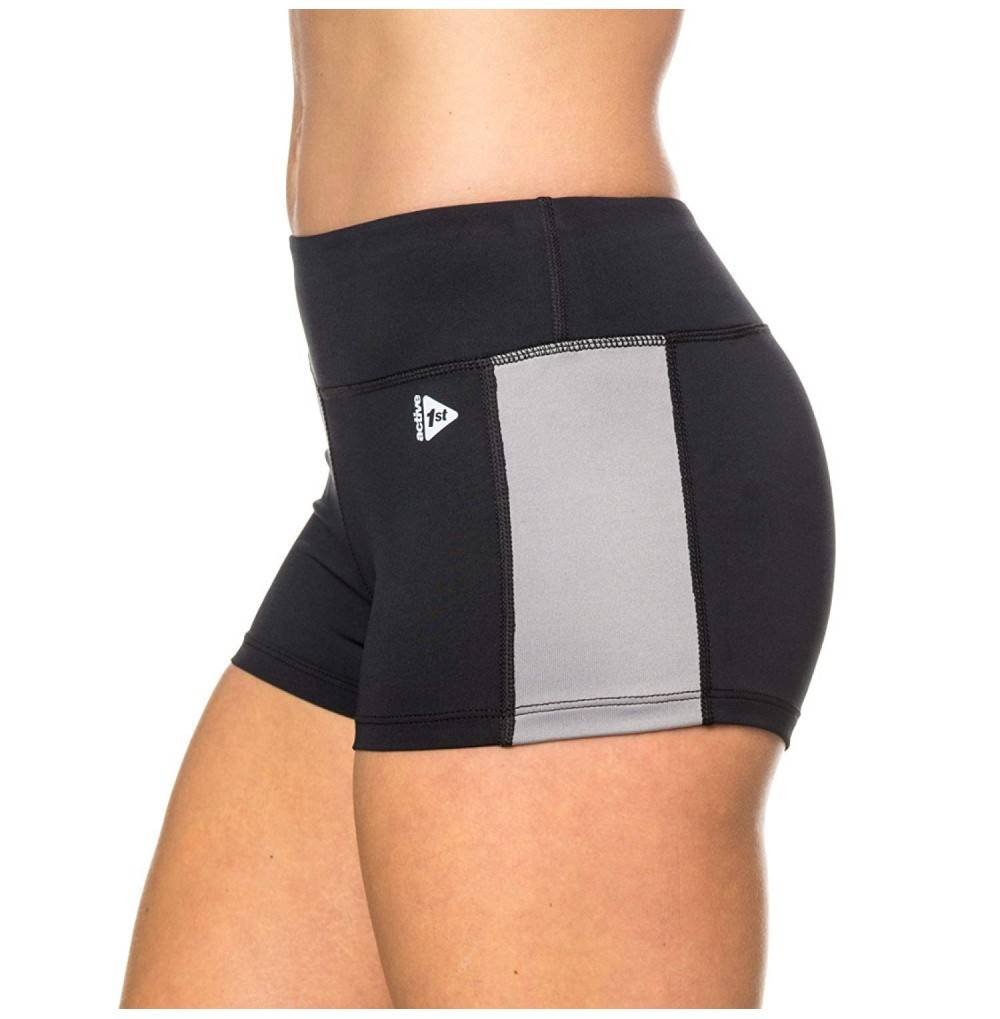 active1st Womens Yoga Running Shorts