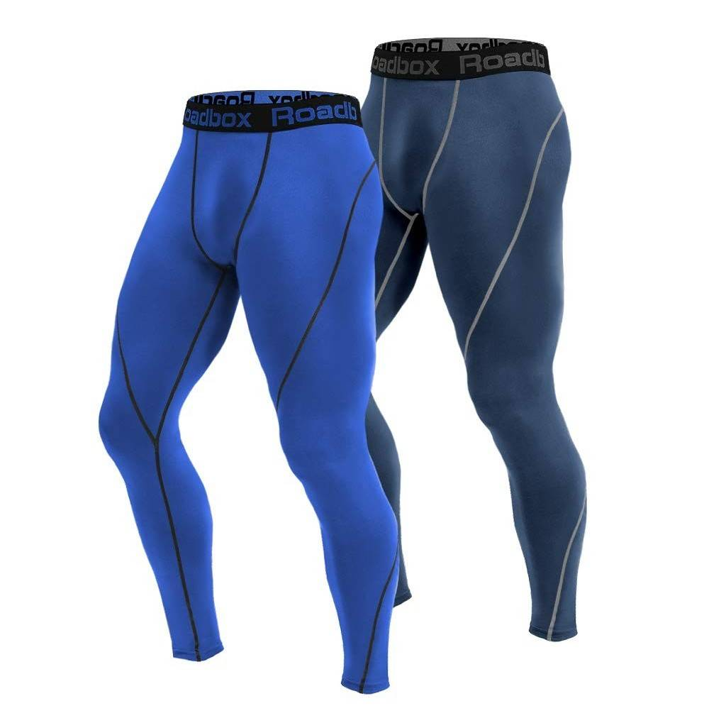 Roadbox Compression Workout Leggings Baselayer