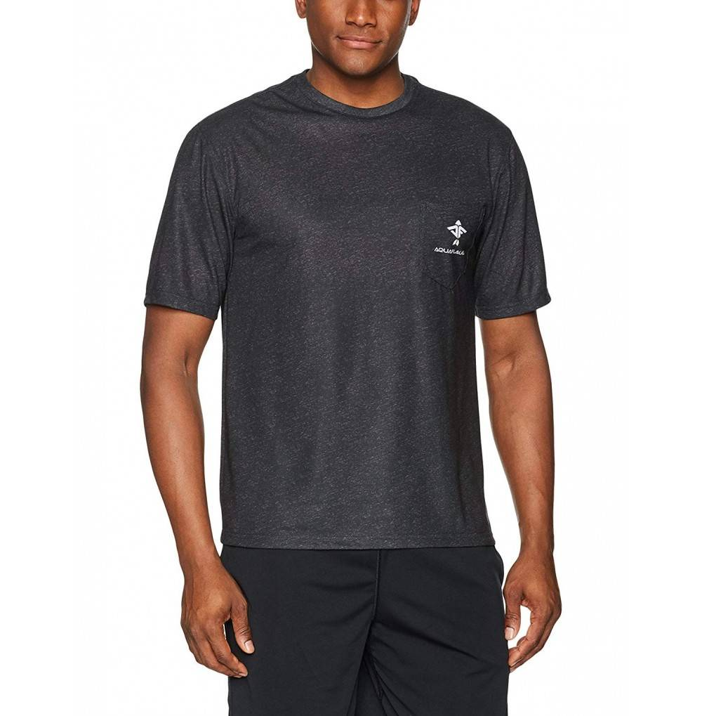AquaFlauge Mens Short Sleeve Poly