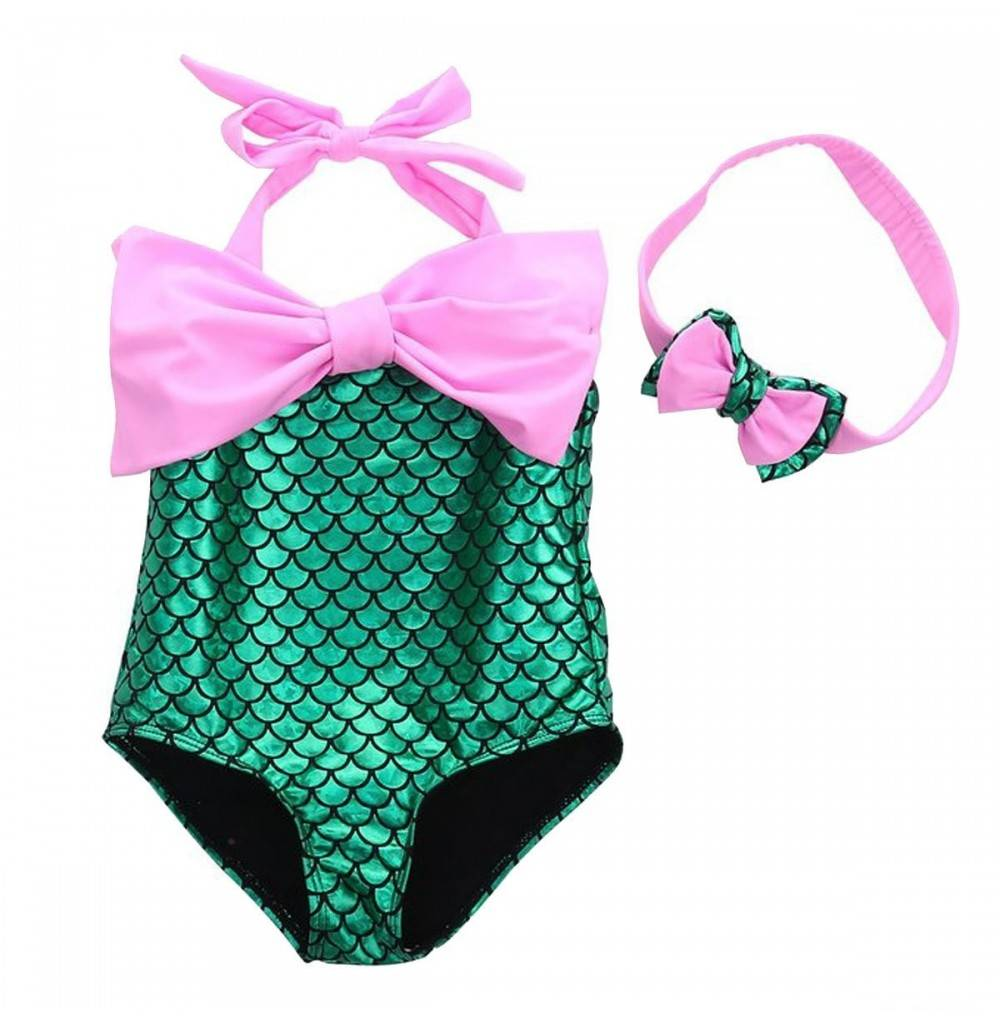 Sunbaby Bowknot Mermaid Swimwear Headband