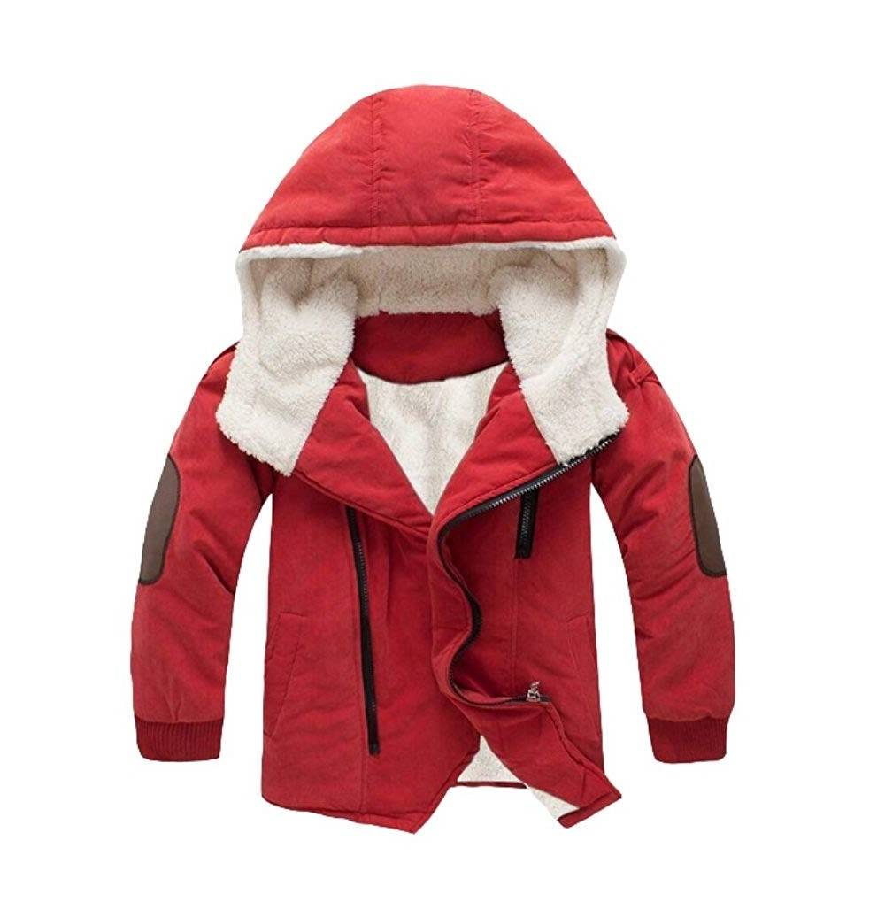 Mallimoda Cotton Padded Jacket Hooded Fleece