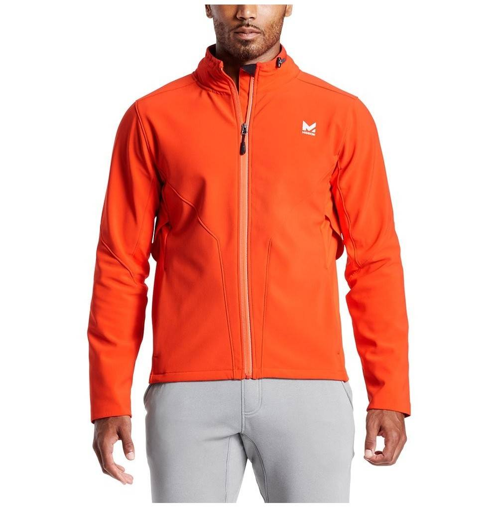 Mission VaporActive Catalyst Jacket Cherry