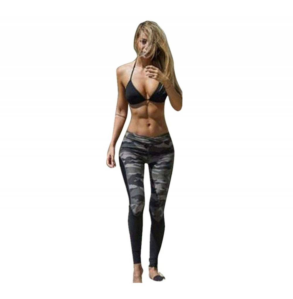 Haijie Camouflage Leggings Athletic Trousers