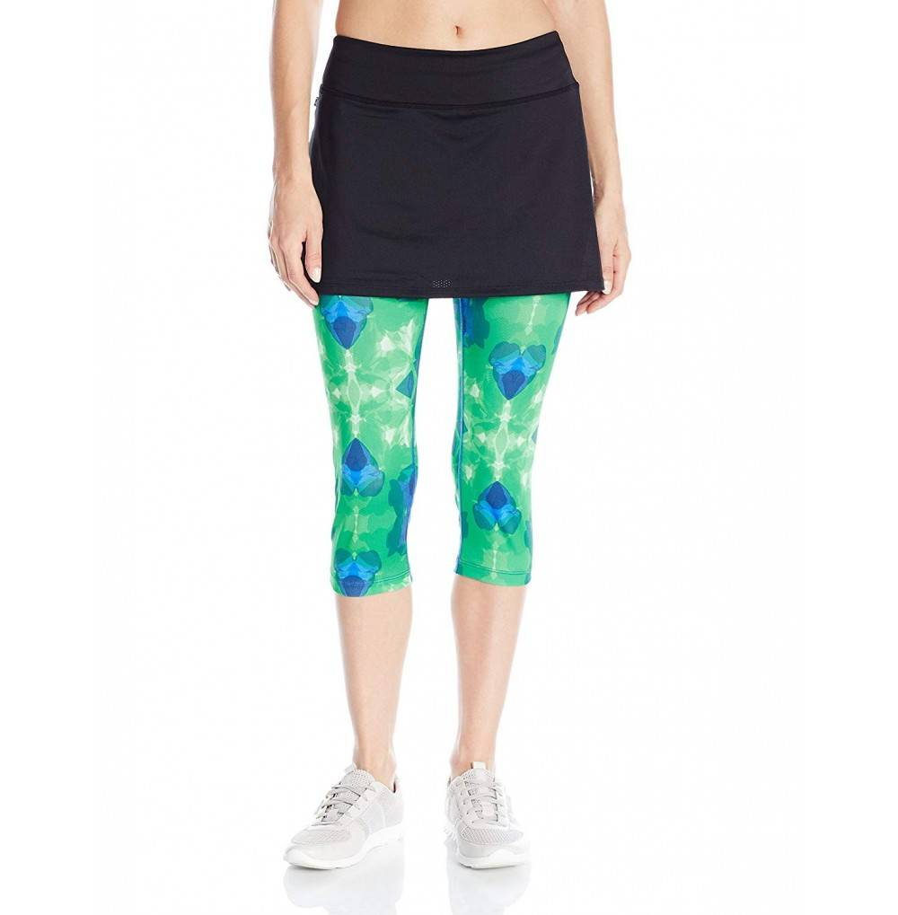 Skirt Sports Leggings Moisture Wicking Breathable