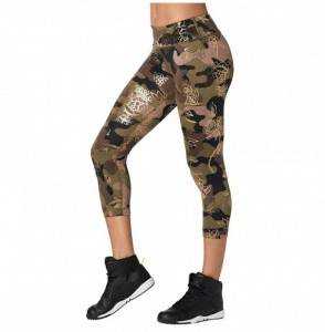 Zumba Waistband Fitness Compression Leggings