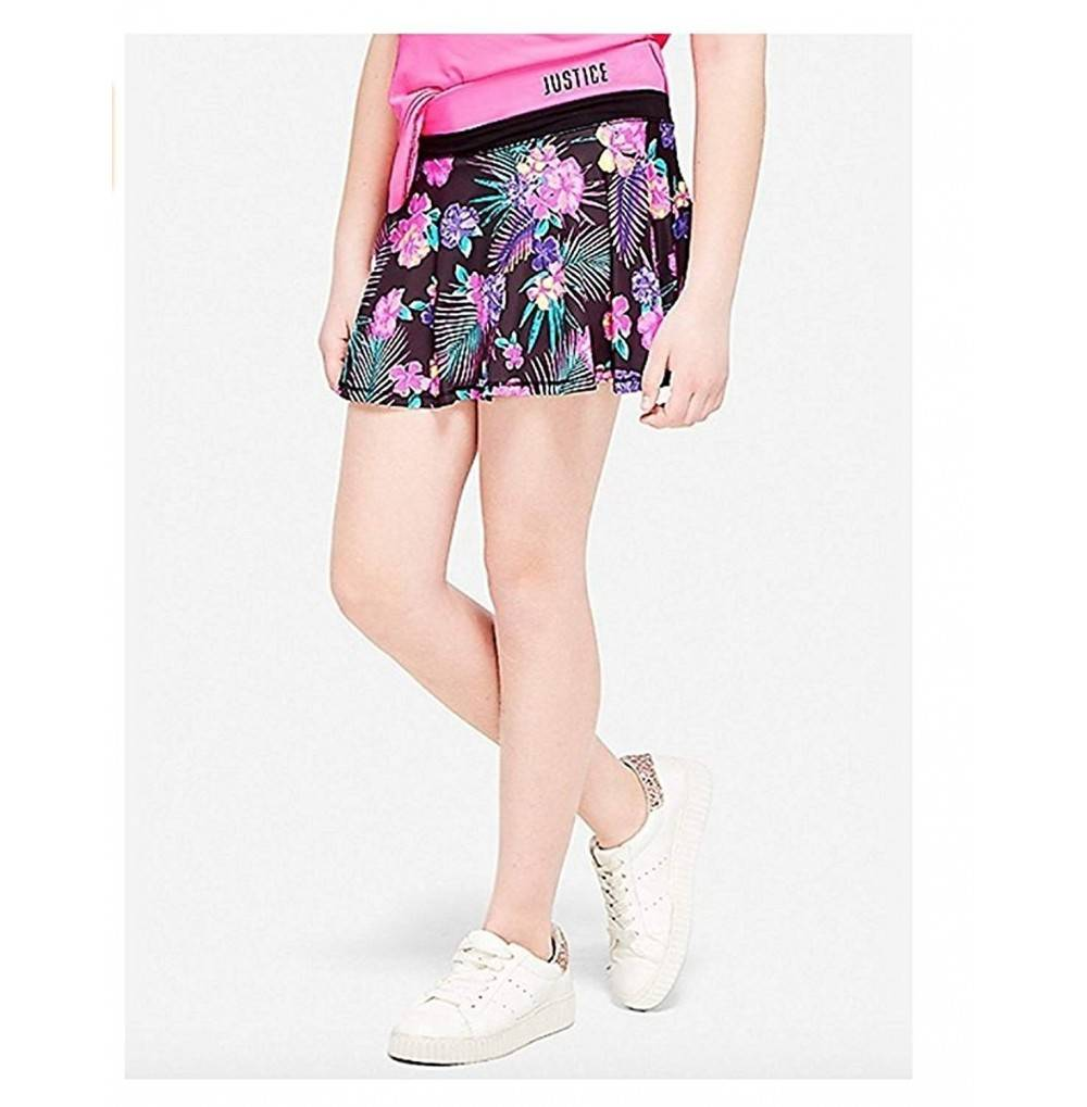 Justice Skort Brushstroke Super Flower