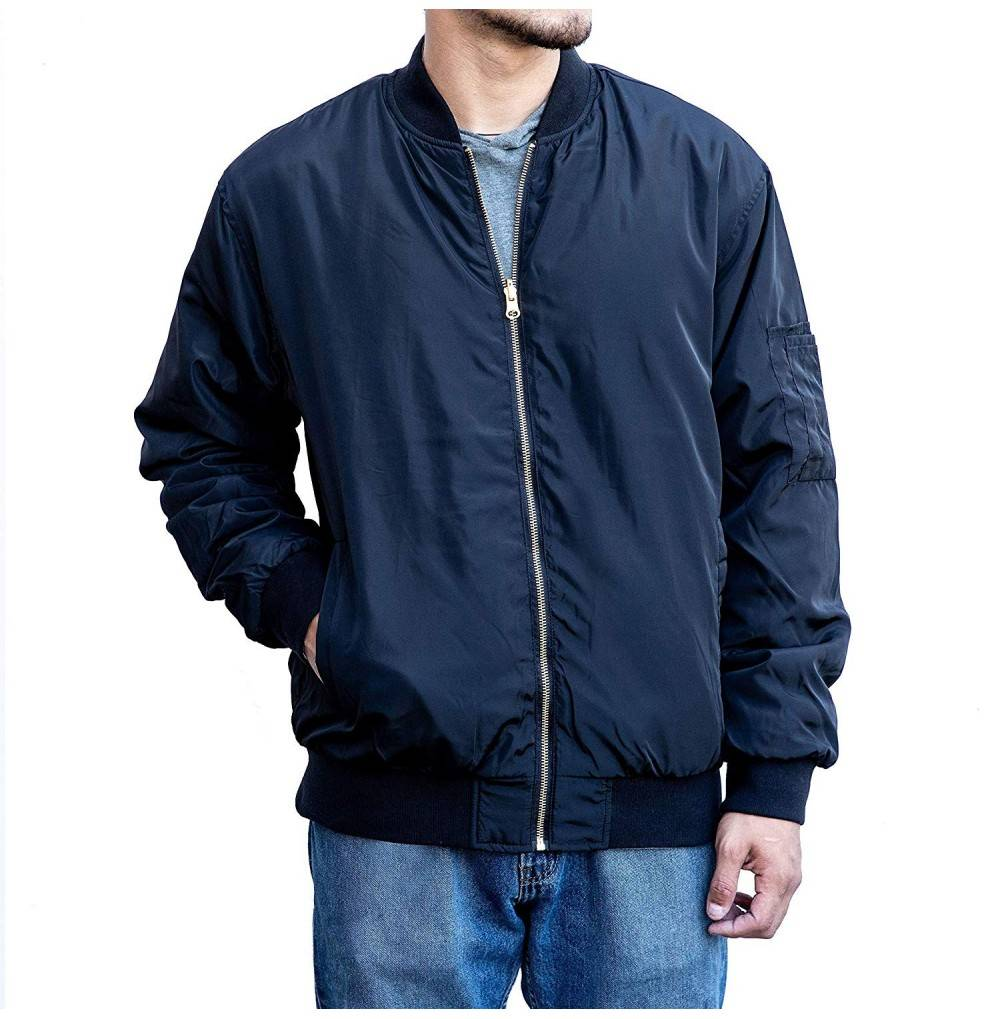 LLC Reversible Lightweight Bomber Jacket