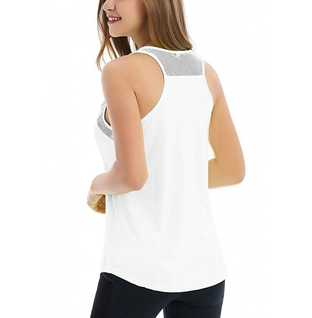 Fihapyli Womens Backless Tanks Workout