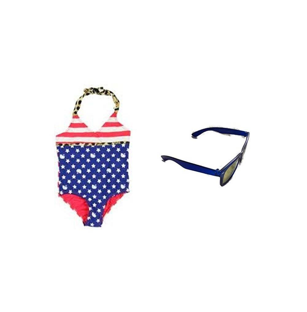 Hello Kitty Stripes Swimsuit Sunglasses