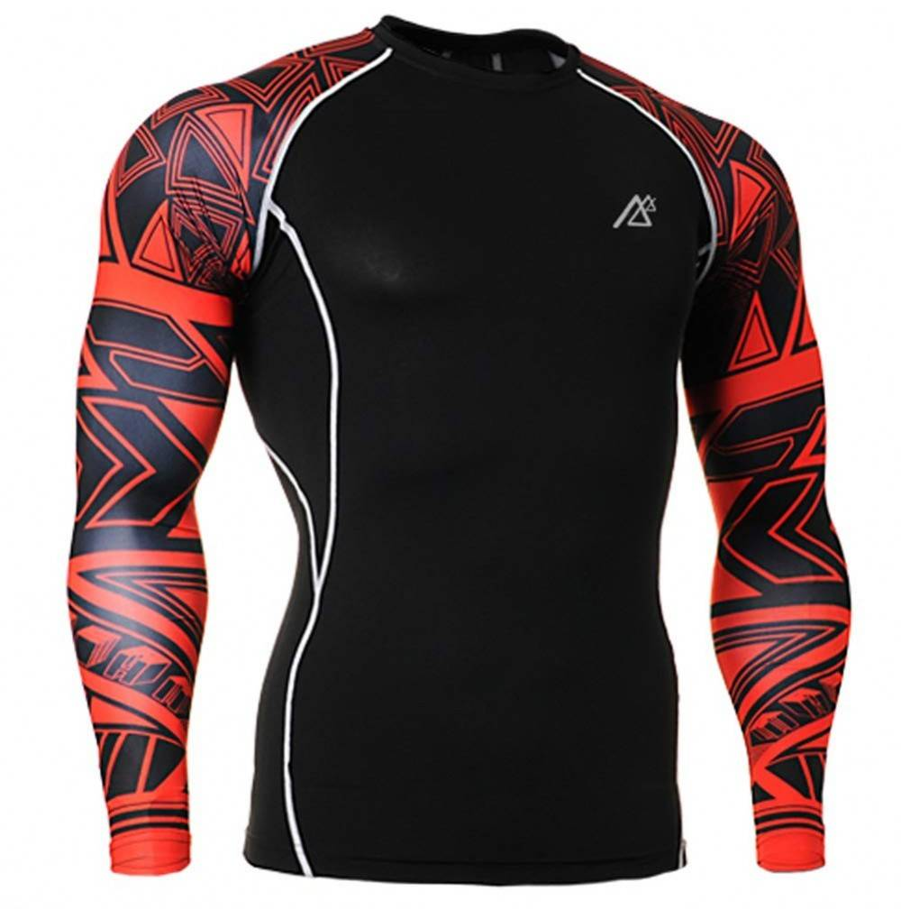 Sleeve Compression T Shirts Layers Sports