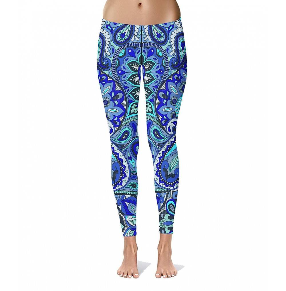 Mandala Workout Activewear Exercise Leggings