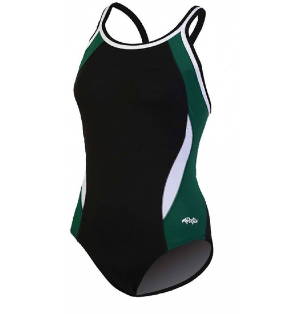 Dolfin Swimwear Color Block Back