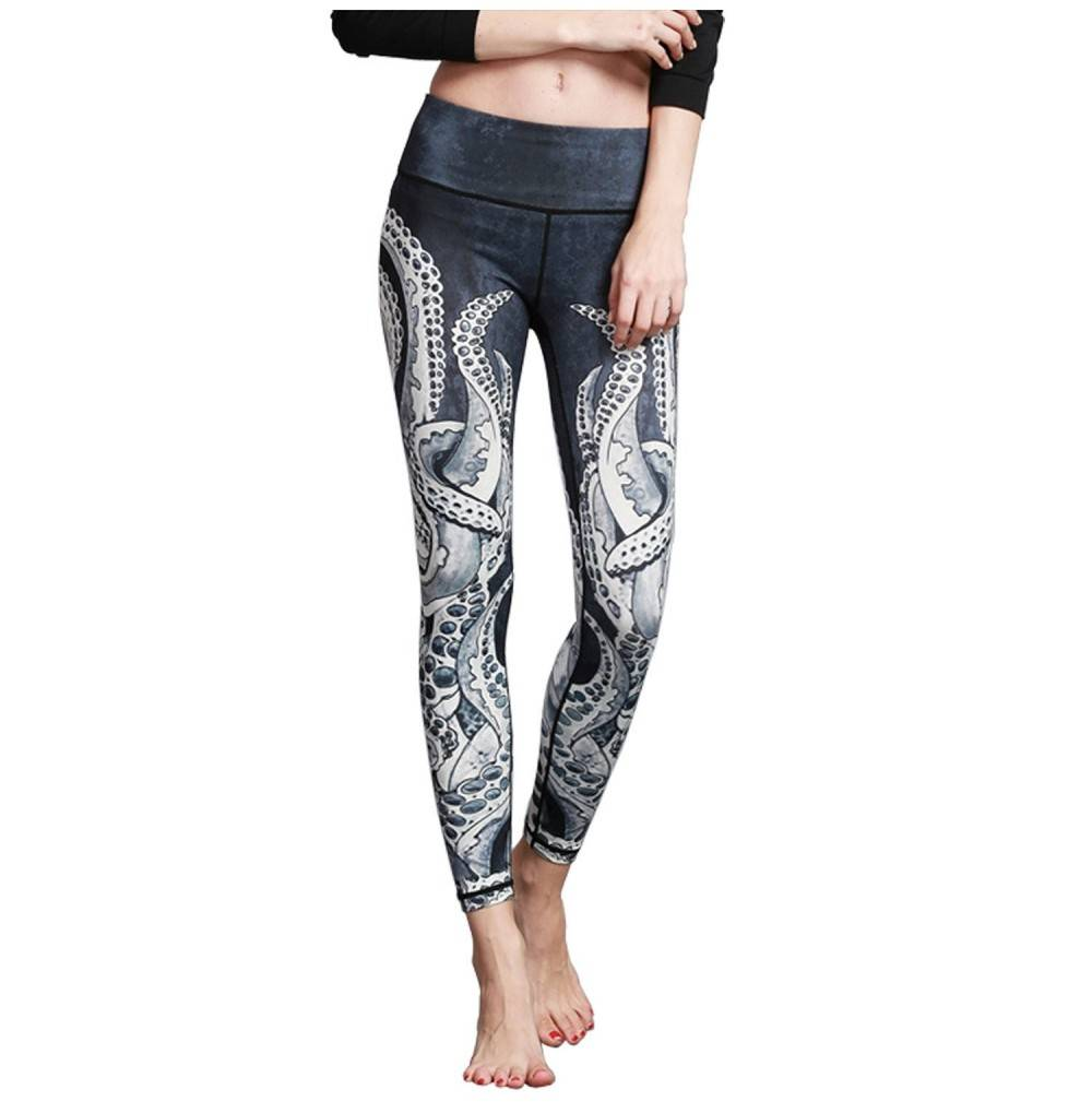MTSCE Printed Workout Leggings Fitness