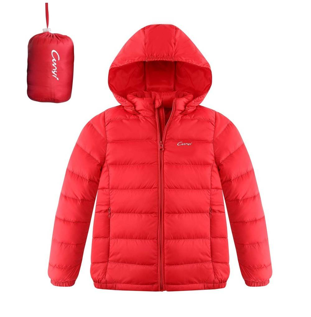 CUNYI Hooded Portable Lightweight Jacket
