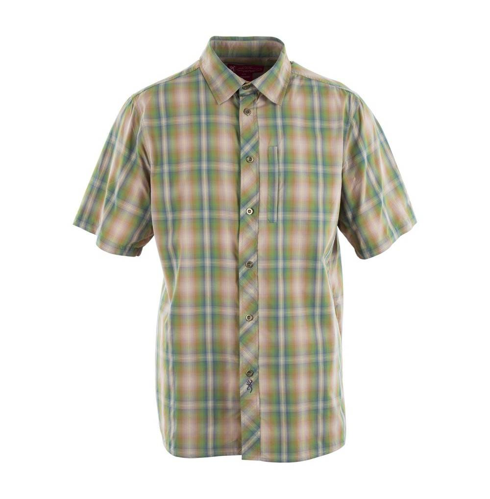 Browning Camden Shirt Breen Plaid