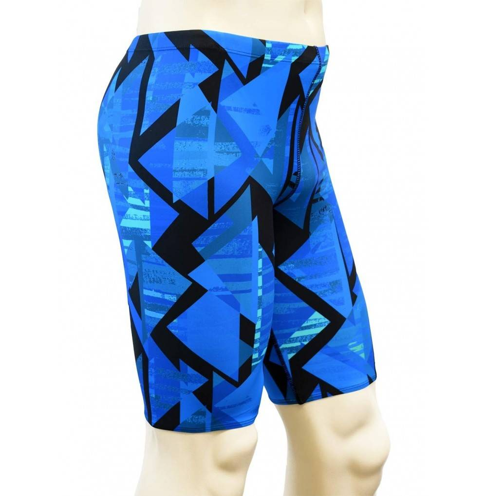 Adoretex Printed Athletic Jammer Swimsuit