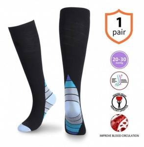 Compression Socks Cotton Cushioned Athletic