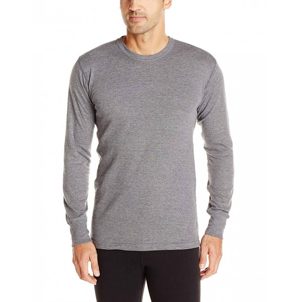 Stanfields Cotton Sleeve Charcoal XLarge