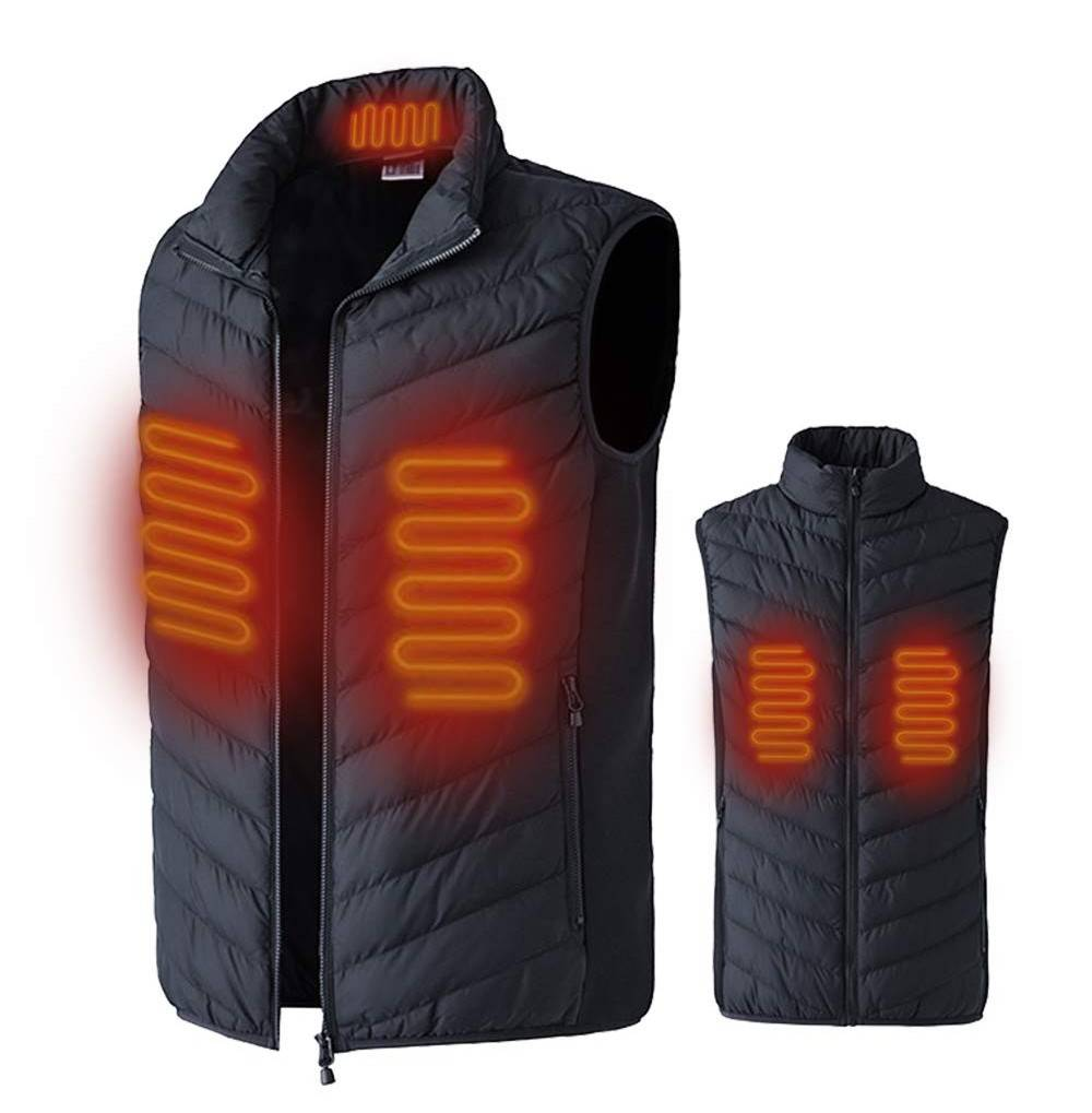 XHDOU Electric Waistcoat Rechargeable No Battery
