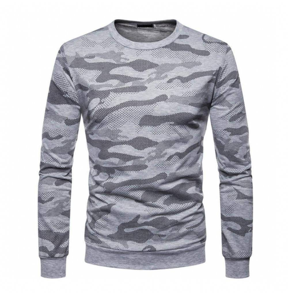 Casual Tops Sweatshirt Camouflage Clothes