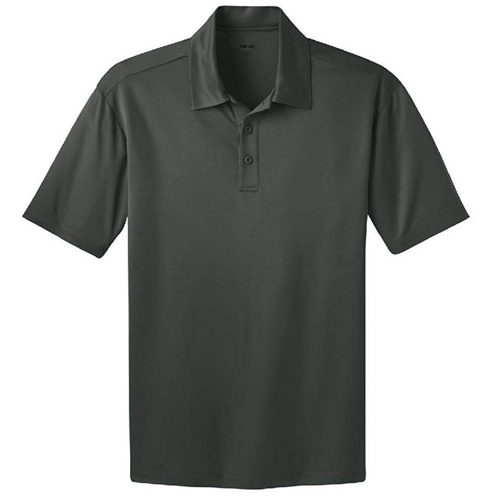 Joes USA Moisture Wicking Shirt SteelGrey 4XLT