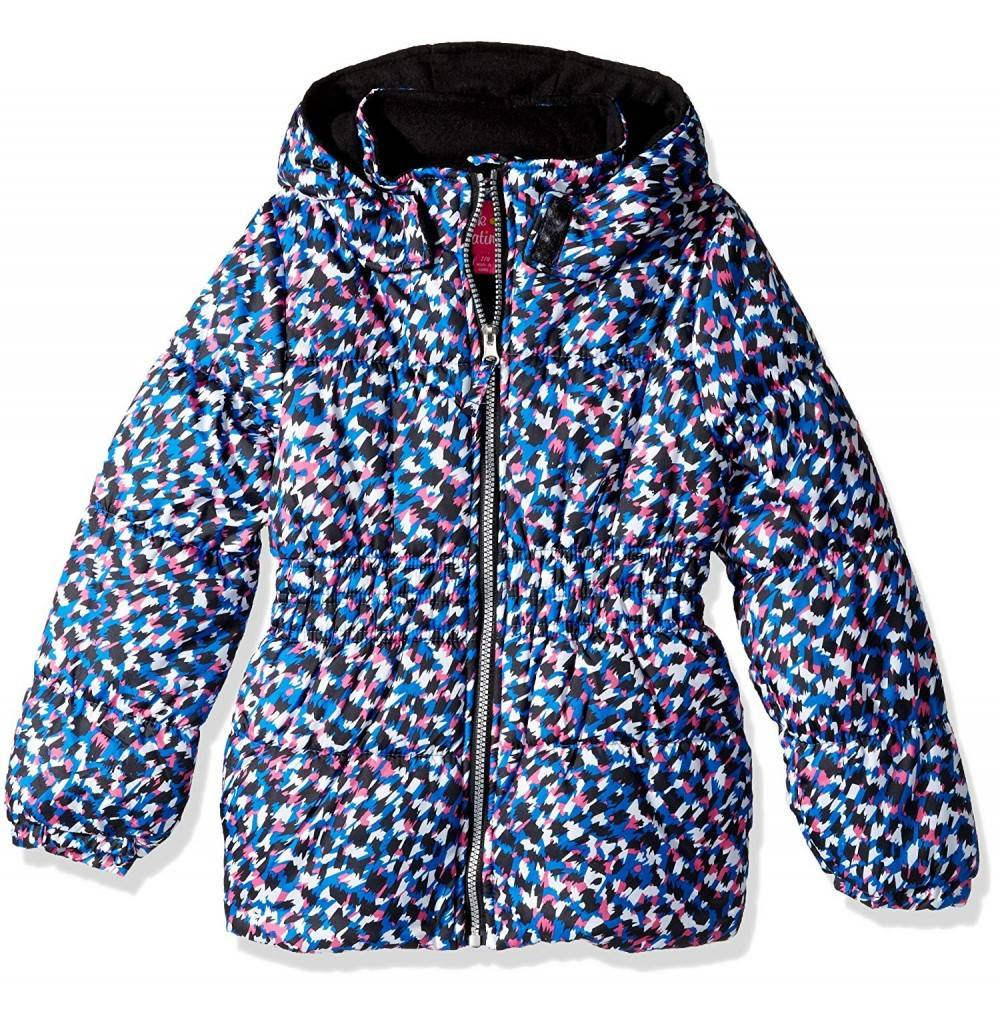 Pink Platinum Pretty Cheetah Puffer
