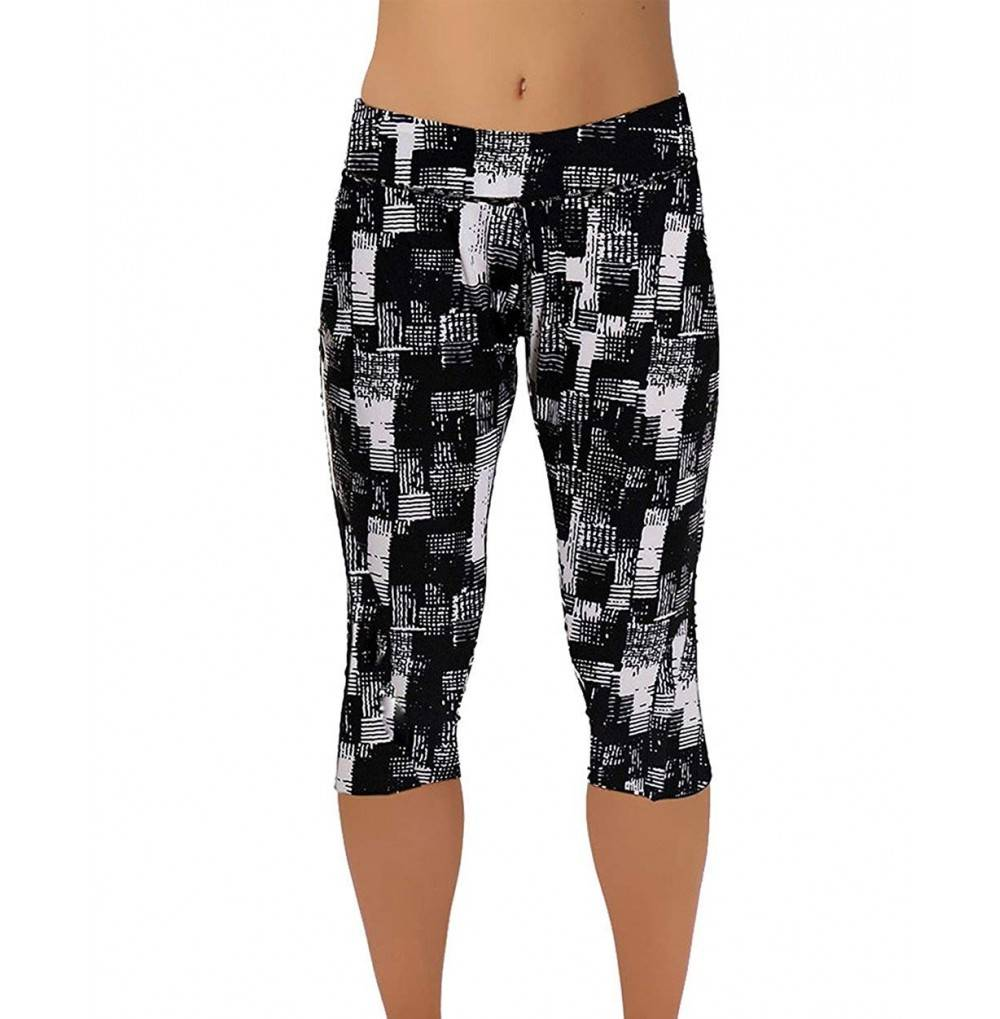 Urtrend Printed Fitness Workout Leggings