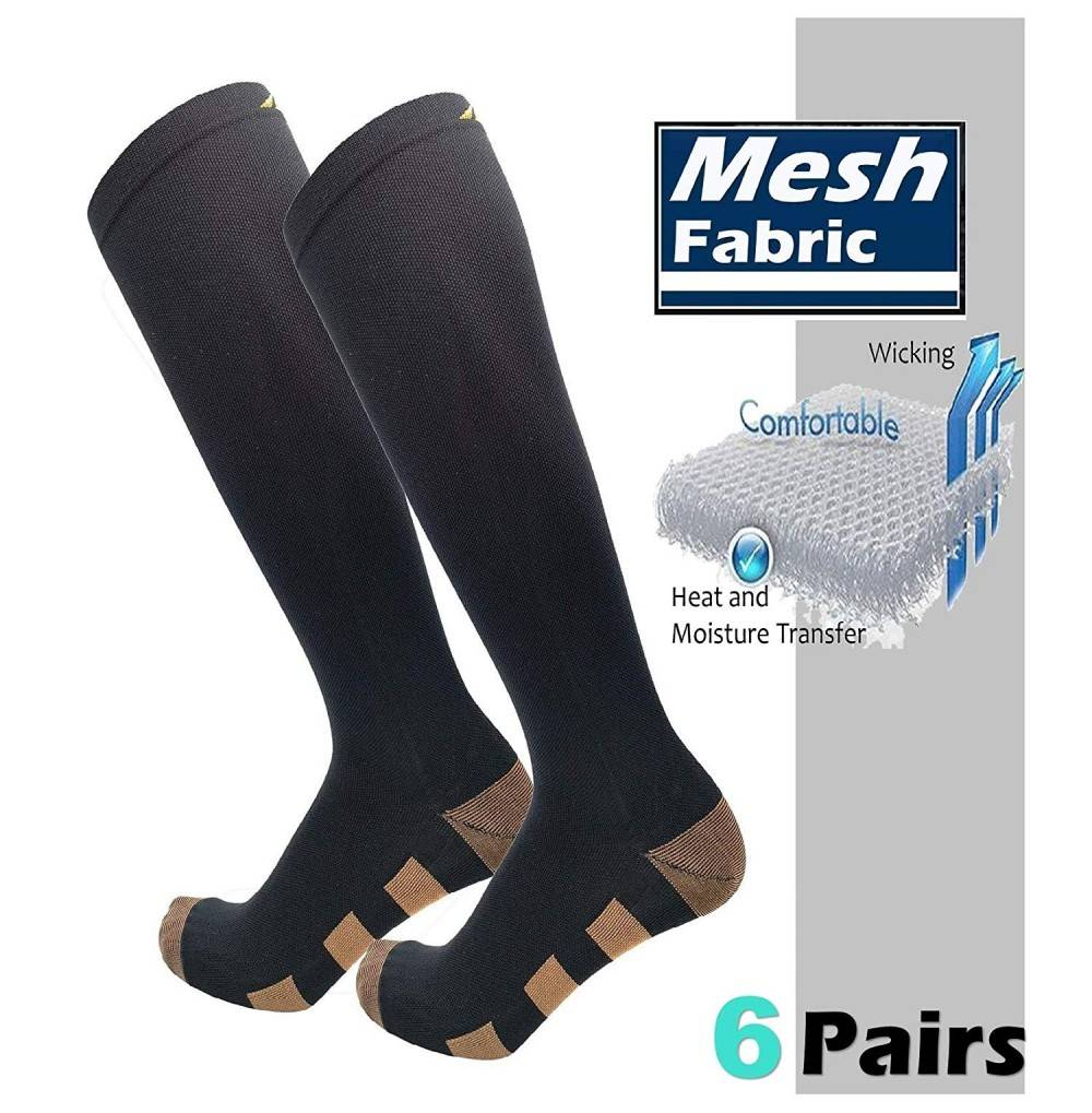 HIGHCAMP Compression Supportive Stockings Fasciitis