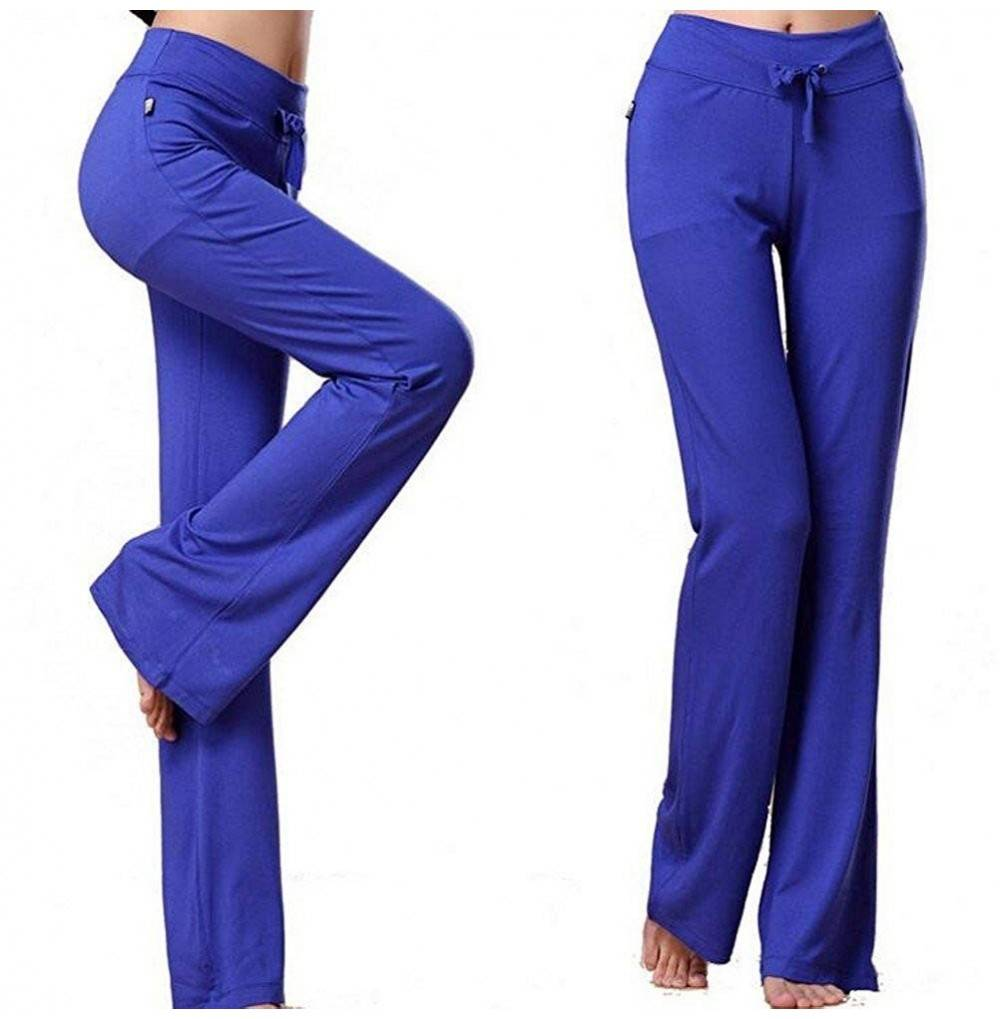 Womens Sports Jogging Straight Trousers