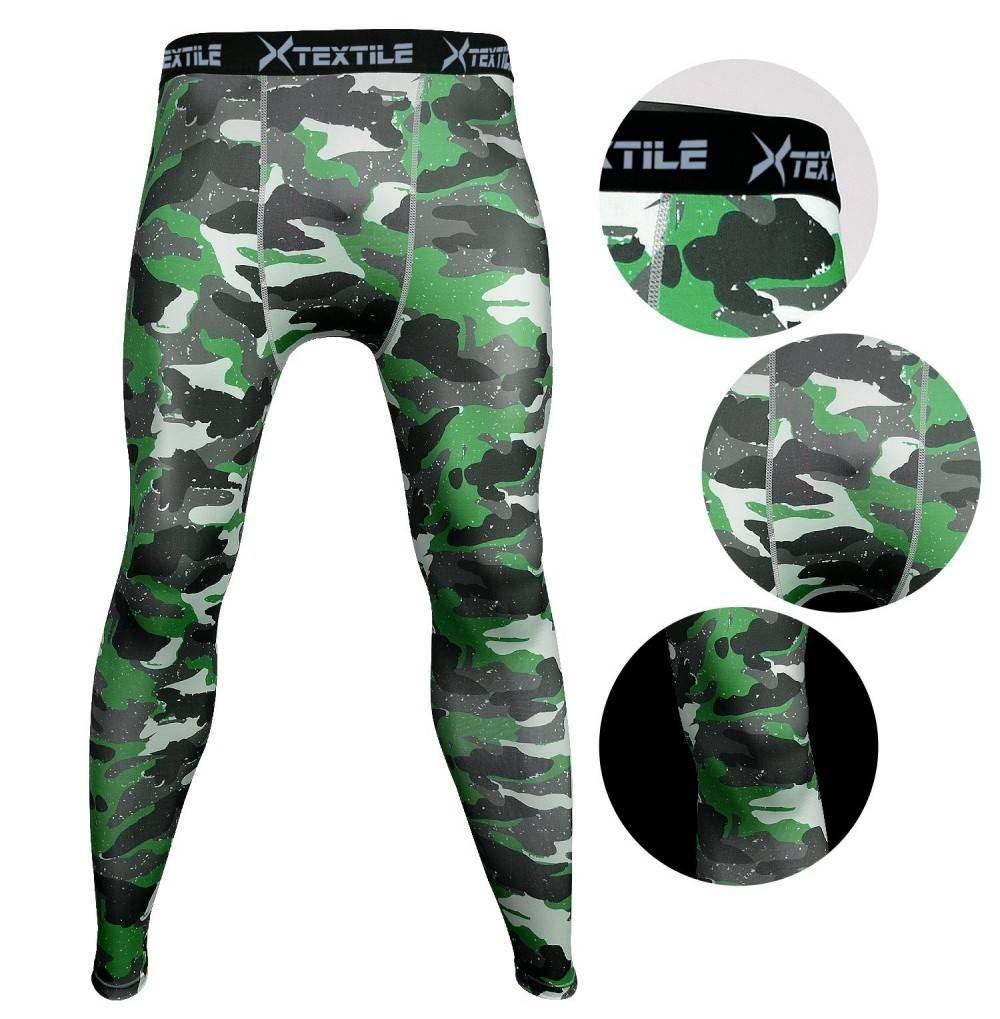 Xtextile Camouflage Compression Running Leggings