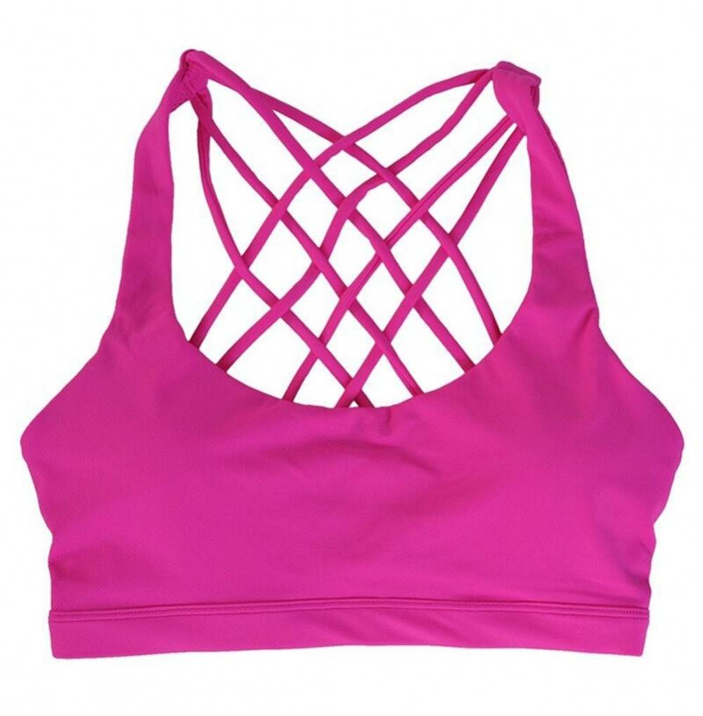 JSY UP Womens Criss Cross Strappy Workout