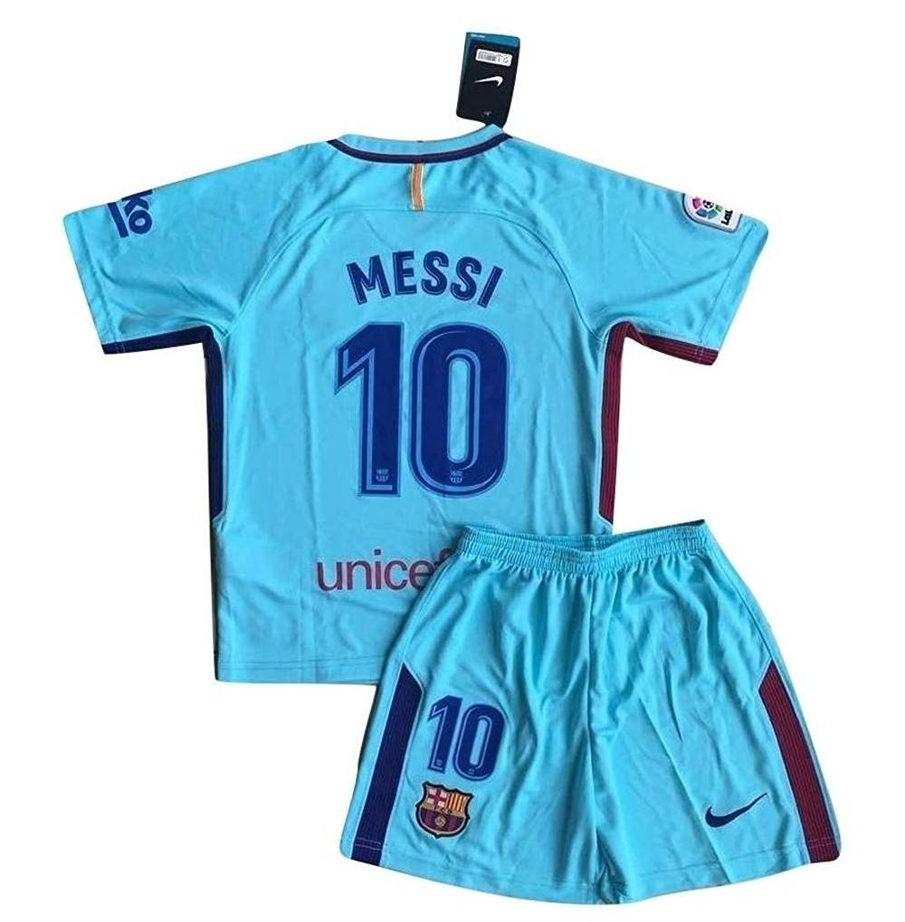 MFooty Barcelona Jersey Shorts Youths