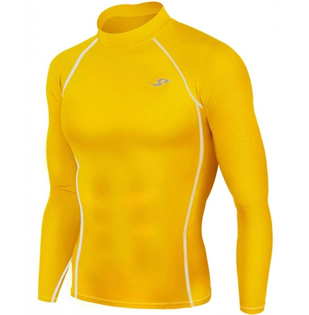 Tight Compression Layer Yellow Running