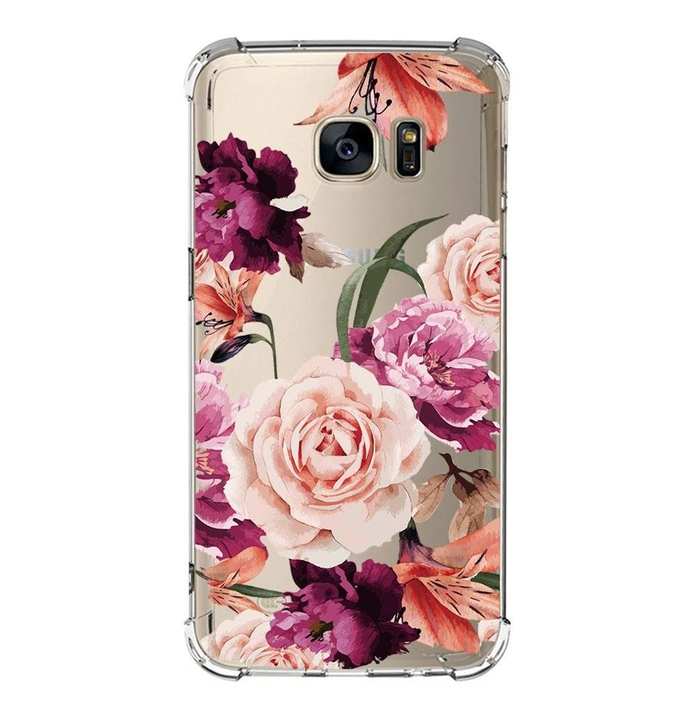 Galaxy Edges Floral Pattern Flexible