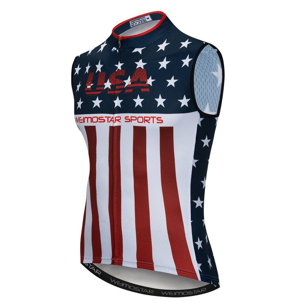 Cycling Sleeveless Bicycle Clothing Reflective