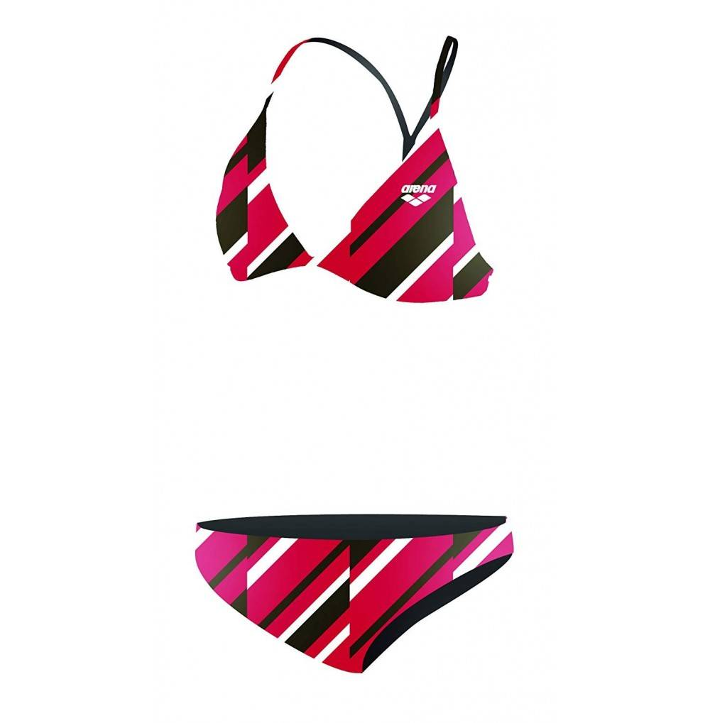 Arena Girls Two Piece Polyester Swimsuit