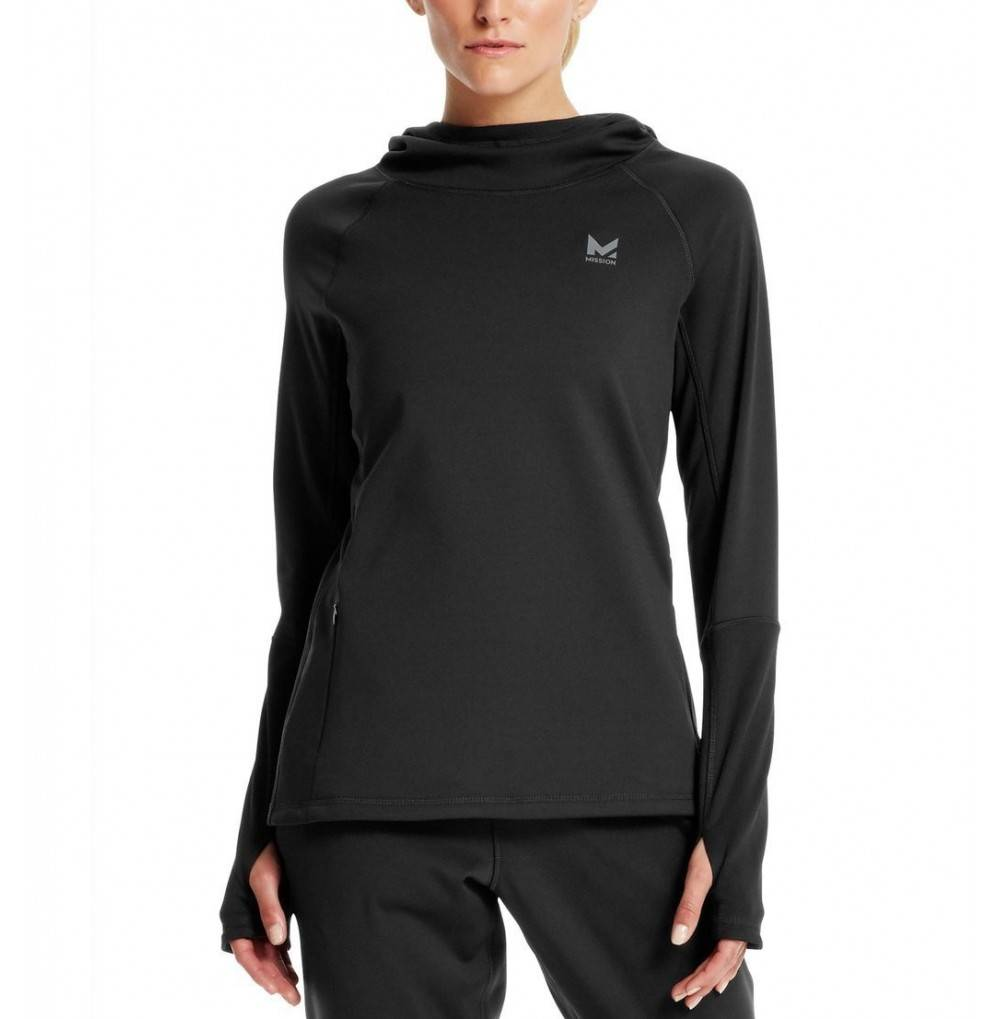 Mission VaporActive Gravity Pullover Moonless