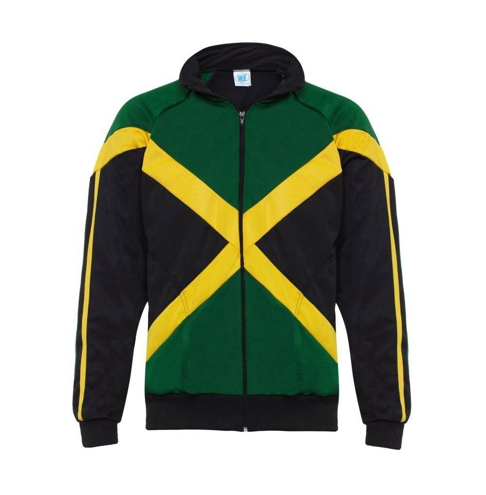 Authentic Jamaican Sleeved Reggae Zip Up