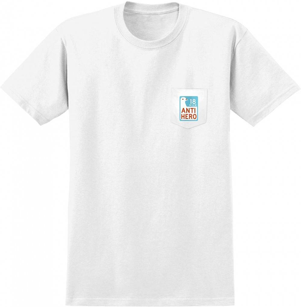 Antihero Skateboards Scenic Pocket T Shirt