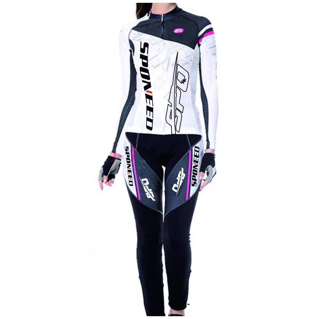 sponeed Womens Jersey Cushioned Moutain