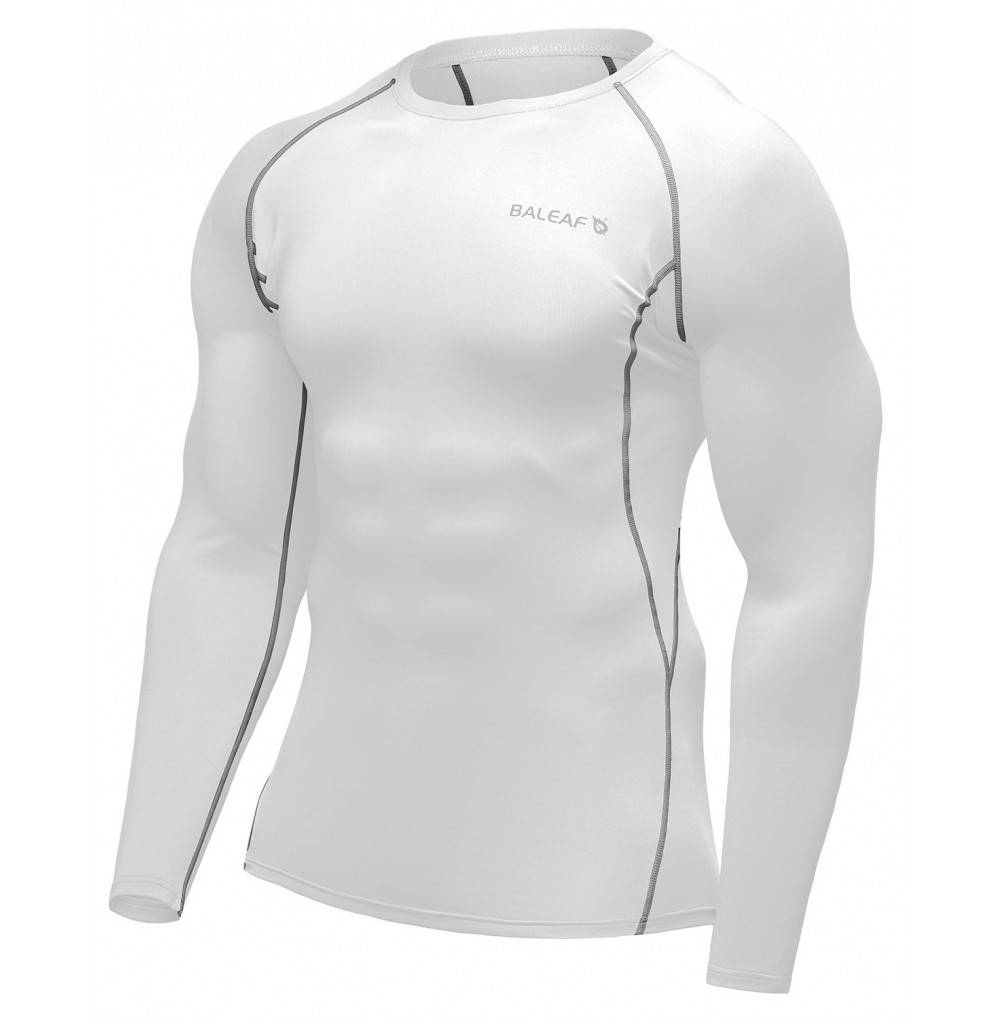 Baleaf Mens Sleeve Compression Shirt